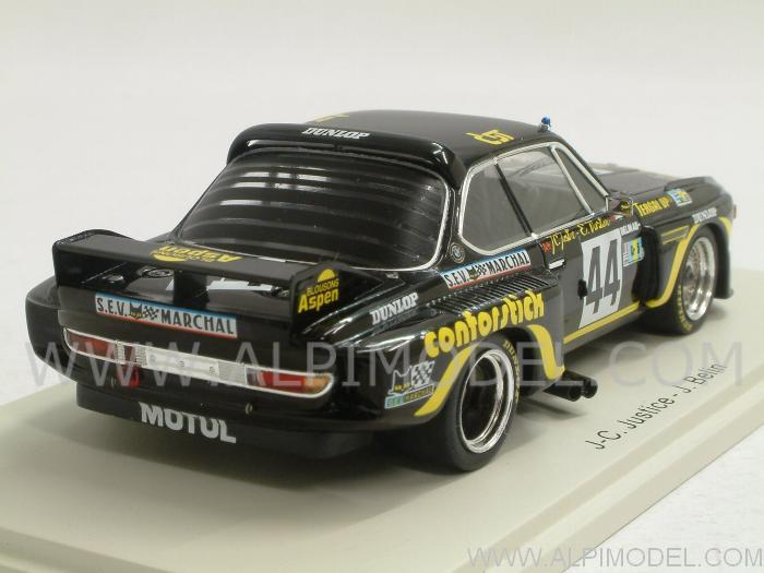 Spark Model Bmw 3 5 Csl 44 Le Mans 1976 Justice Belin
