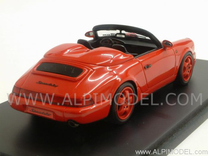 Spark Model Porsche 911 Type 964 Speedster 1993 Red 1