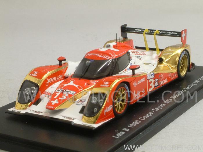 Lola B10//60 Toyota Rebellion Racing #13 Le Mans 2011 SPARK 1:43 S2528 Model