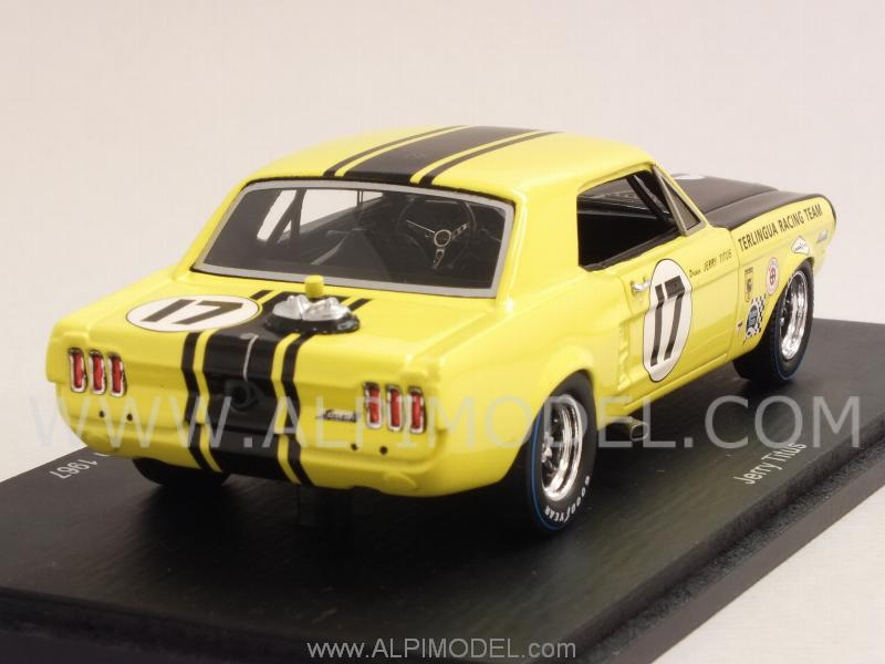 Ford Mustang 2016 >> spark-model Ford Mustang #17 Trans-Am Champion 1967 Jerry Titus (1/43 scale model)