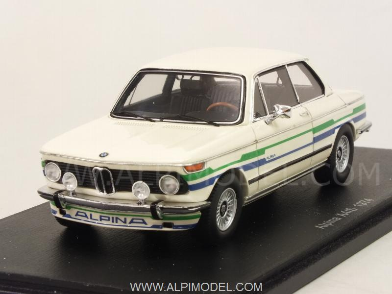 Spark Model S2810 Alpina Bmw A4 S 1974 Ivory 1 43