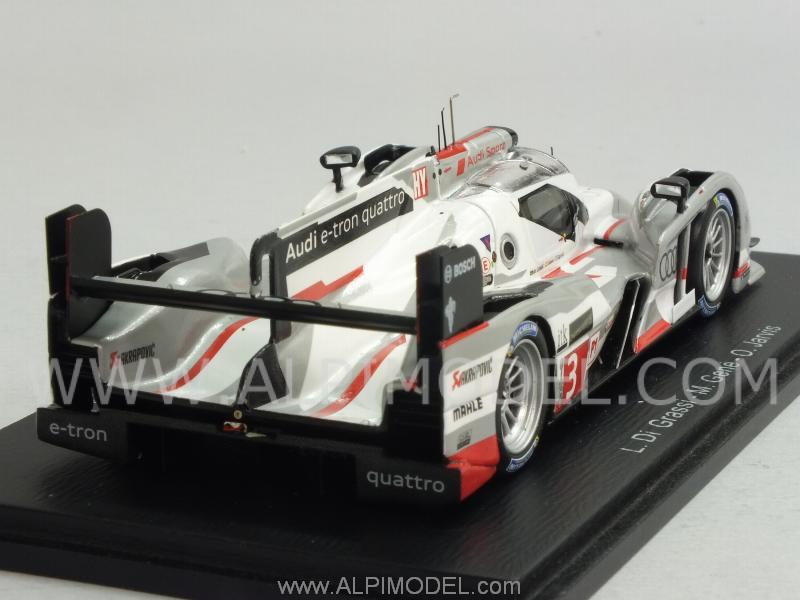 Spark Model Audi R18 E Tron Quattro 3 Le Mans 2013 Di