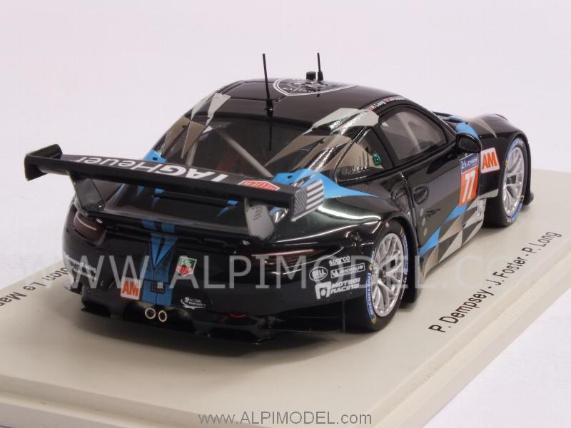 Spark Model Porsche 911 Rsr 991 77 Le Mans 2014