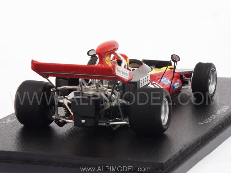 Spark S4255 Darnval-Connew PC1 Austrian GP 1972 Francois Migault 1//43 Scale