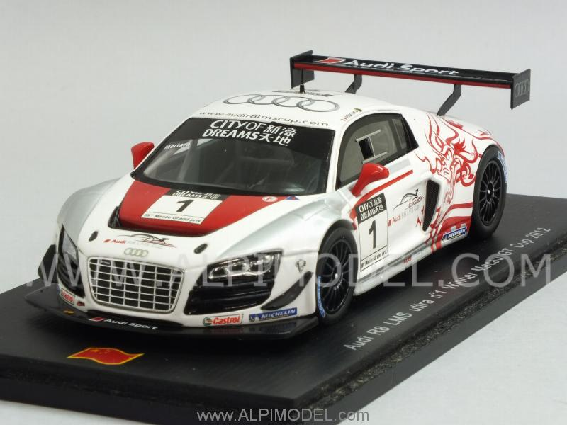 Spark Model Audi R8 Lms Ultra 1 Winner Macau Gt Cup 2012