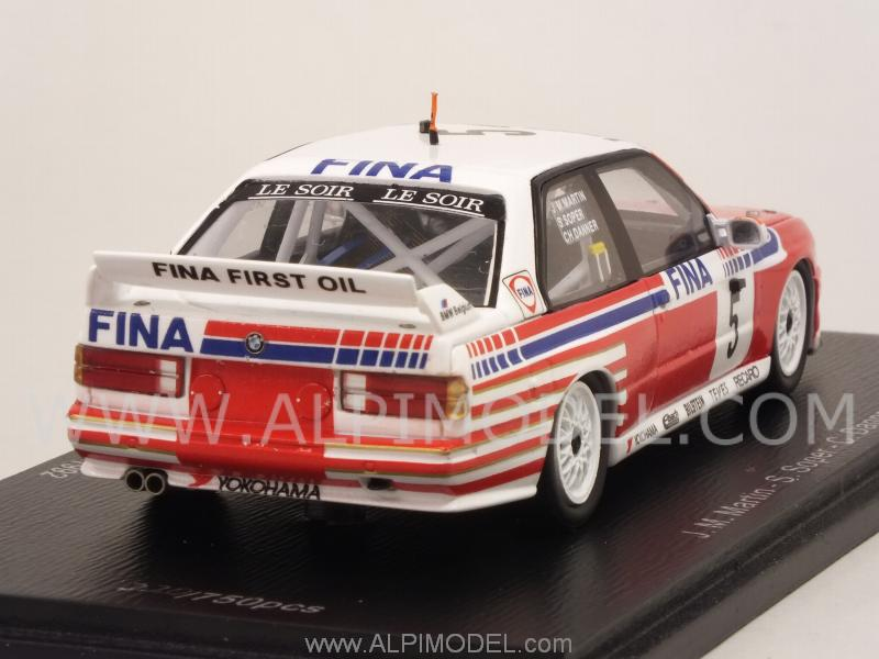 Bmw M3 E30 >> spark-model BMW M3 (E30) #5 Winner 24h Spa 1992 Martin - Soper - Danner (1/43 scale model)