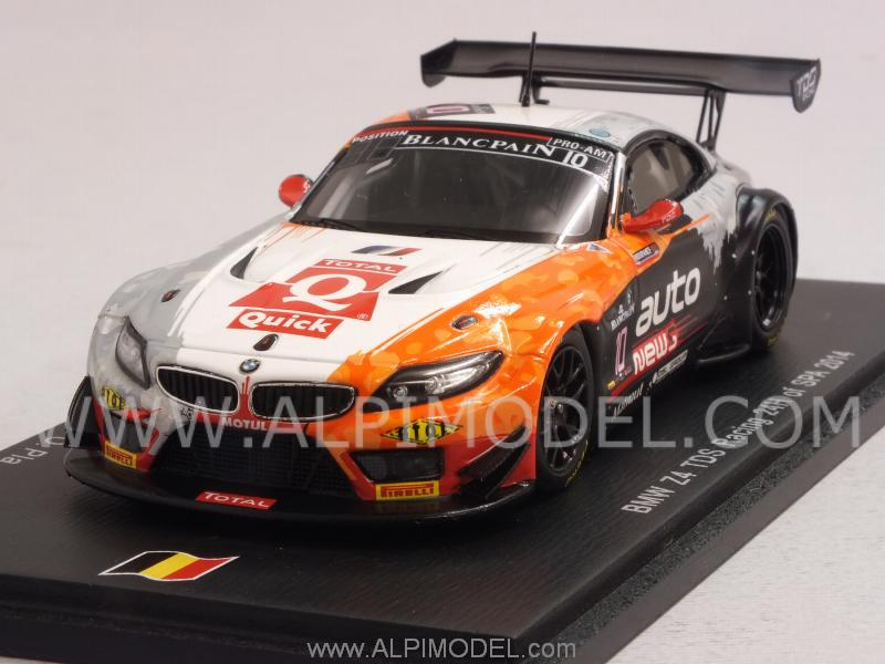 Spark Model Bmw Z4 Tds Racing 10 24h Spa 2014 Clement