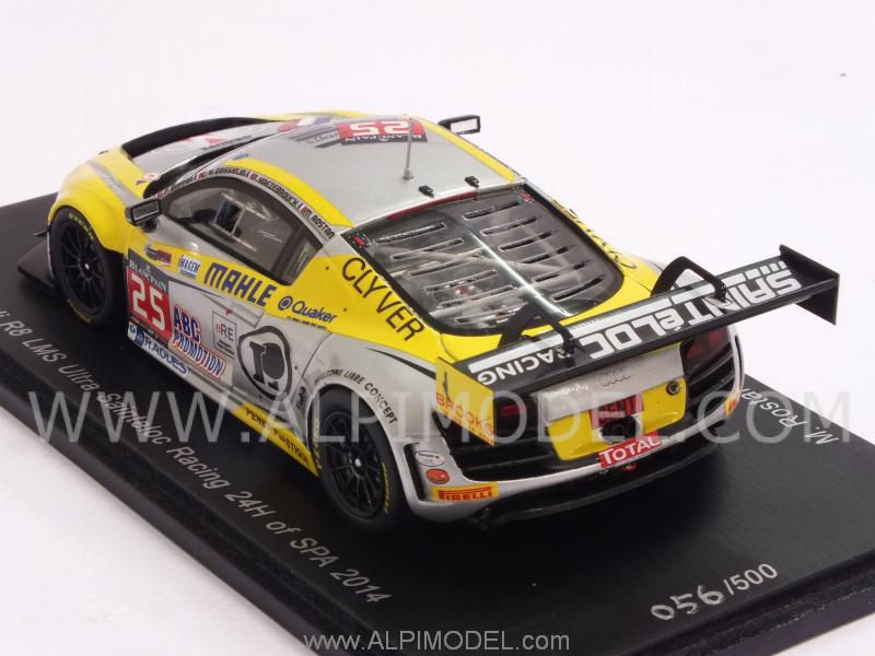 Spark Model Audi R8 Lms Ultra Sainteloc Racing 25 24h Spa
