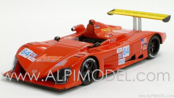 Spark Model Wr Mazda 64 Petit Le Mans 2003 Terada
