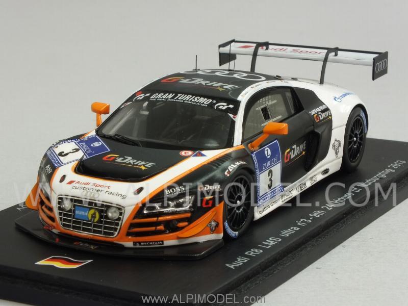 Spark Model Audi R8 Lms Ultra 3 Nurburgring 2013 Joens