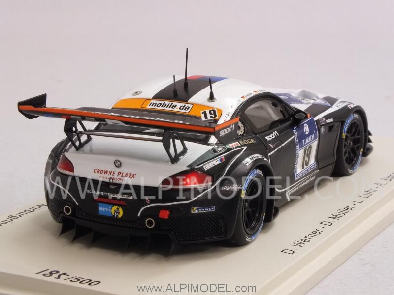 Spark Model Bmw Z4 Gt3 Sports Trophy Team Schubert 19