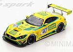 Mercedes AMG GT3 #48 24h Nurburgring 2017 Heyer - Schneider - Dontje by SPARK MODEL