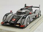 Audi R18 TDI #2 Winner Le Mans 2011 Fassler - Lotterer - Treluyer by SPARK MODEL