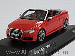 Audi S3 Cabriolet 2014 (Misano Red) Audi Promo by SPARK MODEL.