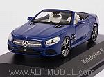 Mercedes SL-Class Cabriolet 2015 (Brilliant Blue) (Mercedes Promo) by SPARK MODEL
