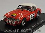 Austin Healey 3000 #76 Winner Rally Liege-Rome-Liege 1960 by SPARK MODEL