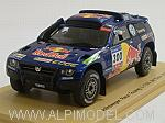 Volkswagen Race Touareg 3 #300 Dakar Rally 2011 by SPARK MODEL