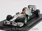 Mercedes W03 #7 GP Brasil 2012 last race of Michael Schumacher by SPARK MODEL