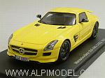 Mercedes SLS AMG E-Cell 2010 (Yellow) by SPARK MODEL