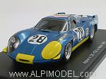 Alpine Renault A220 #28 Le Mans 1969 De Cortanze - Vinatier by SPARK MODEL