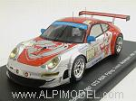 Porsche 911 GT3 RSR 997 Flying Lizard Motorsport #80 Le Mans 2009 Neiman - Law - Bergmeister by SPARK MODEL