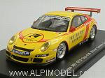 Porsche 911 GT3 997 #99 Winner Carrera Cup Asia 2009 Menzel by SPARK MODEL