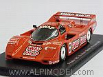 Porsche 962 #8 Winner Sebring 1985 Wollek - Foyt by SPARK MODEL