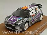Citroen DS3 WRC #14 Rally Acropolis 2011 Van Merksteijn - Chevaillier by SPARK MODEL