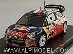 Citroen DS3 WRC #2 Winner French Rally 2011 Ogier - Ingrassia by SPARK MODEL