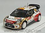 Citroen DS3 WRC #10 Rally Monte Carlo 2013 Sordo - Del Barrio by SPARK MODEL