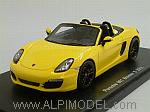 Porsche Boxster S (Type 981) 2012 (Yellow) by SPARK MODEL