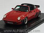 Porsche 911 Turbo 3.3 Targa 1989 (Red) by SPARK MODEL