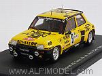 Renault R5 Turbo #9 Rally Monte Carlo 1982 Saby - Sappey by SPARK MODEL