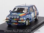 Renault 5 GT Turbo #4 Rally Ivory Coast 1990 Oreille - Oissard by SPARK MODEL