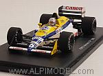Williams FW12 #6 GP Monaco 1988 Riccardo Patrese by SPARK MODEL
