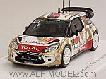 Citroen DS3 #12 Rally Monte Carlo 2015 Ostberg - Andersson by SPARK MODEL