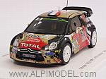 Citroen DS3 WRC #18 Rally Monte Carlo 2015 Chardonnet - De La Haye by SPARK MODEL