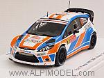 Ford Fiesta WRC #19 Rally Monte Carlo 2015 Raoux - Escartefigue by SPARK MODEL