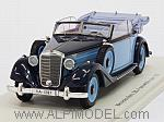 Mercedes 320A Convertible Open 1937 (Light Blue/Blue) by SPARK MODEL