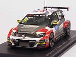 Volkswagen Golf GTI TCR #12 Winner Rd.2 WTCR Hungary 2018 Rob Huff by SPARK MODEL