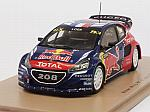 Peugeot 208 WRX #9 Winner World Rallycross of Latvia 2016 Sebastian Loeb by SPARK MODEL