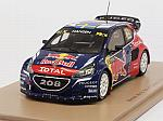 Peugeot 208 WRX #21 Winner World Rallycross of Canada 2016 Timmy Hansen by SPARK MODEL