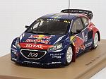 Peugeot 208 #21 Winner World RX France 2015 Timmy Hansen by SPARK  MODEL