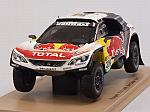 Peugeot 3008 DKR #309 Rally Dakar 2017 Loeb - Elena by SPARK MODEL