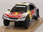 Peugeot 3008 DKR #300 Winner Rally Dakar 2017 Peterhansel - Cottret by SPARK MODEL