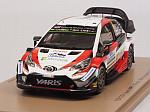 Toyota Yaris WRC #8 Winner Rally Argentina 2018 Tanak - Jarveoja by SPARK MODEL