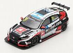 Honda Civic Type R #29 Winner Race 1 WTCR Hungaroring 2019 Nestor Girolami by SPARK MODEL