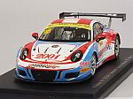 Porsche 911 GT3-R #98 Macau GT World Cup 2016 Ma Ching Yeung Philip by SPARK MODEL
