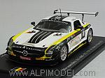 Mercedes SLS AMG GT3 #18 Spa 2013 Hummel - Jans - Christodoulou - Jager by SPARK MODEL