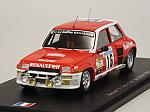 Renault 5 Turbo #16 Tour De Corse 1981 Saby - Le Saux by SPARK MODEL